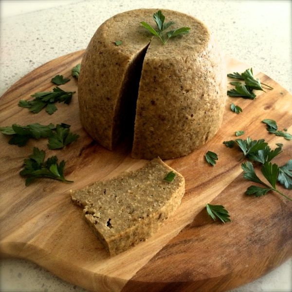 steamed nut loaf